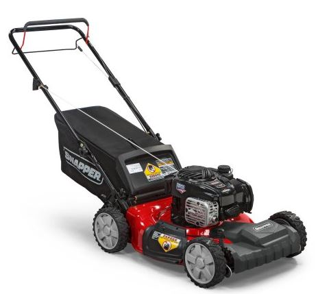 Snapper Lawn mower review, 21 inch 550 Gas self propelled, 2