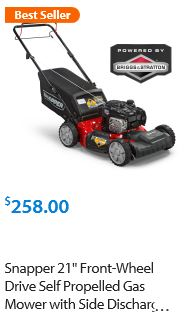 Snapper Lawn mower review, 21 inch 550 Gas self propelled