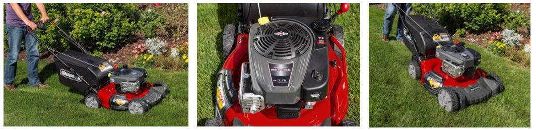 Snapper Lawn mower review, rear wheel 21 inch, images