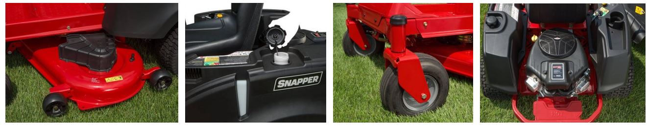 Snapper Zero Turn Lawn mower review, images