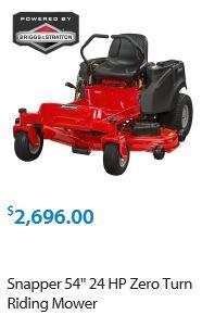 Snapper Zero Turn Lawn mower review
