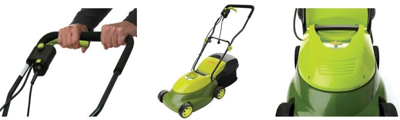 Sun Joe Lawn mower review, Electric model 12 amp 14 inch, additional images