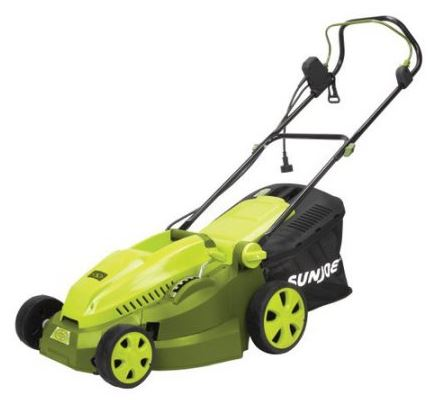 Sun Joe Lawn mower review, Electric model 12 amp 16 inch, Main