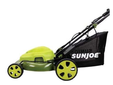 Sun Joe Lawn mower review, Electric model 12 amp 20 inch, main