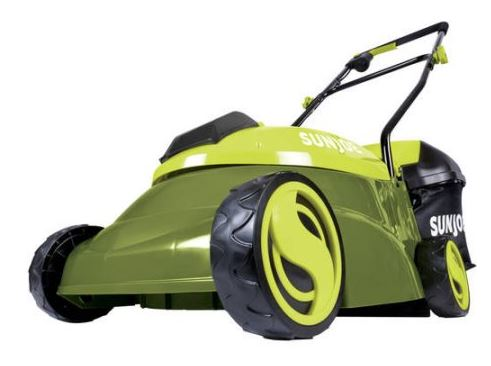 Sun Joe Lawn mower review, Electric model 28V 14 inch, main