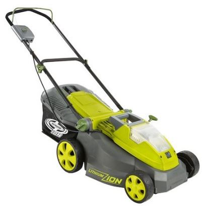 Sun Joe Lawn mower review, Electric model 40V 16 inch brushless, main