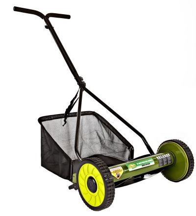 Sun Joe Lawn mower review, model 16 inch Reel, main