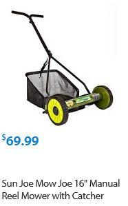 Sun Joe Lawn mower review, model 16 inch Reel