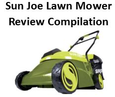 Sun Joe lawn mower compilation, featured image