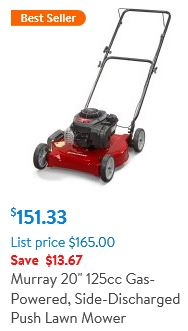 Murray 20 inch 125cc Lawn Mower review