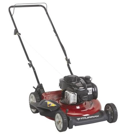 Murray 21 inch, 500e side discharge, lawn mower review, featured image