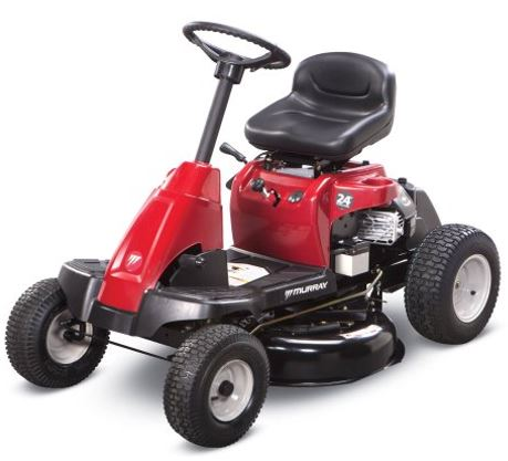 Murray Riding Lawn Mower Review Model 24 Inch Rear Engine