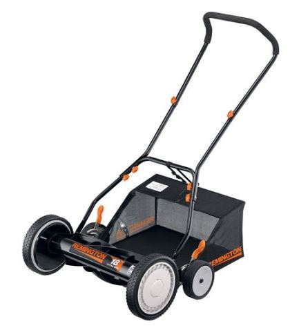 Remington Lawn Mower Review - Reel mower, featured image
