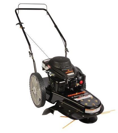 Remington Lawn Mower Review, Wheeled String Trimmer Mower, featured image