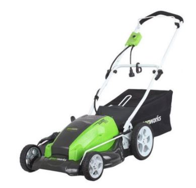 Greenworks Lawn Mower review, 25112 13 Amp 21 inch, featured image