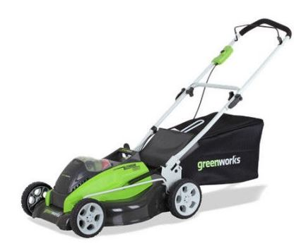 Greenworks Lawn Mower reviews, 25223, 40v 19 inch, featured image