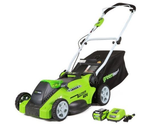 Greenworks lawn mower review, 40V 16 inch, featured image