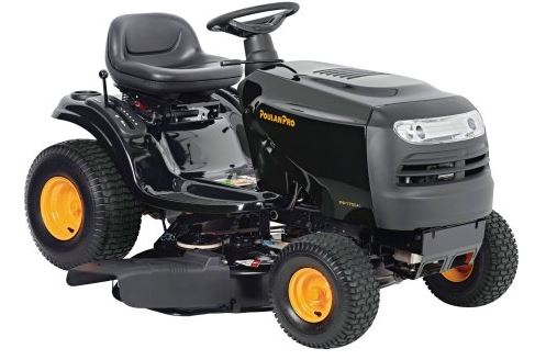 Poulan Pro Tractor Lawn Mower review, 42 inch 17.5 HP, featured image