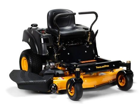 Poulan Pro Zero Turn Mower review, model 54 inch 24HP