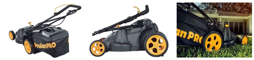 Poulan Pro lawn mower review, 40v battery, additional images