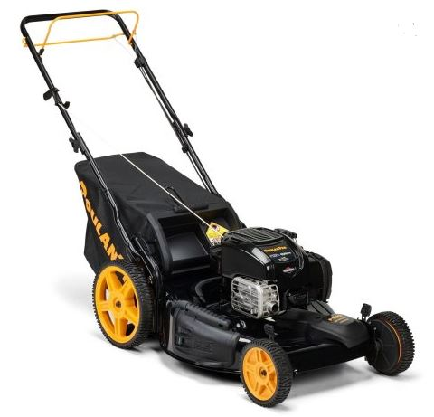 Poulan pro lawn mower review, 22 inch 163cc, featured image
