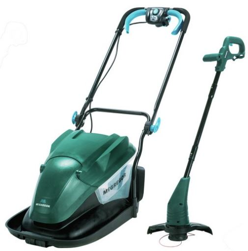 McGregor 35cm Hover Collect Lawnmower 1700W